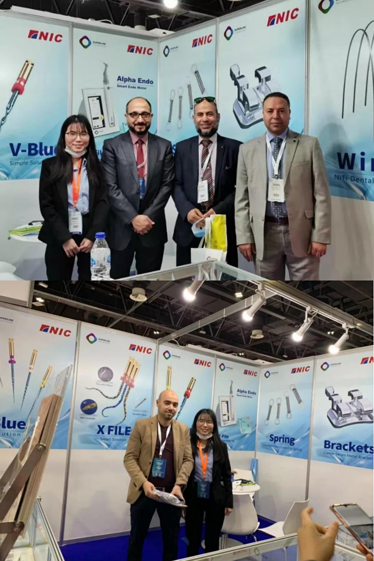励志前行 速航三朵金花出征迪拜国际口腔医学展览会!